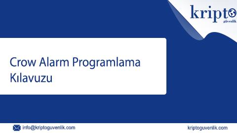 Crow alarm programlama kilavuzu – DSC Alarm Paneli Bağlantı Şeması