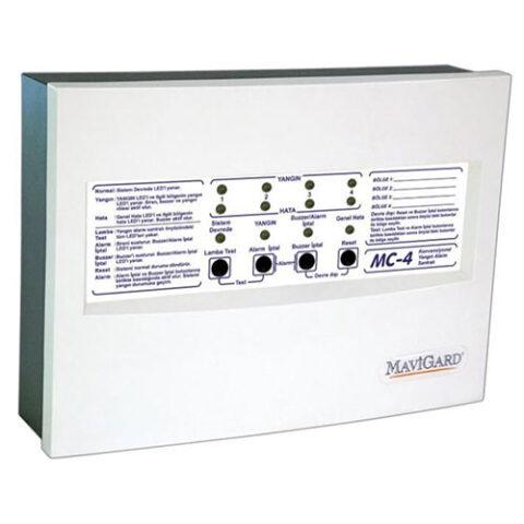 Mavigard MC-4 Konvansiyonel Yangın Alarm Paneli