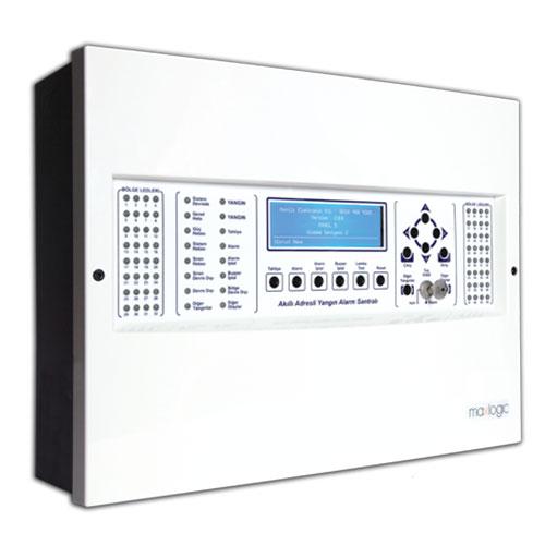 Maxlogic ML-1233 Akıllı Adresli Yangın Alarm Santrali
